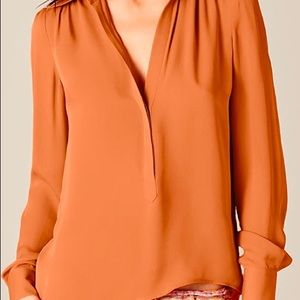 Pre-owned Silk chiffon Haute Hippie blouse